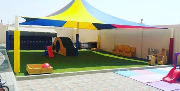 مظلات مدارس اطفال  في الرياض