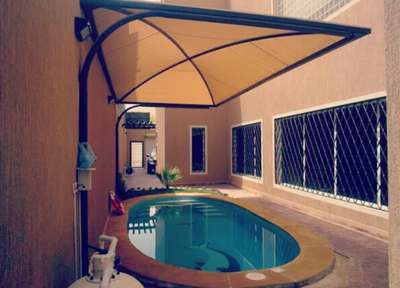 تركيب مظلات مسابح في الرياض