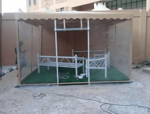 مظلات حدائق قماش في الرياض )