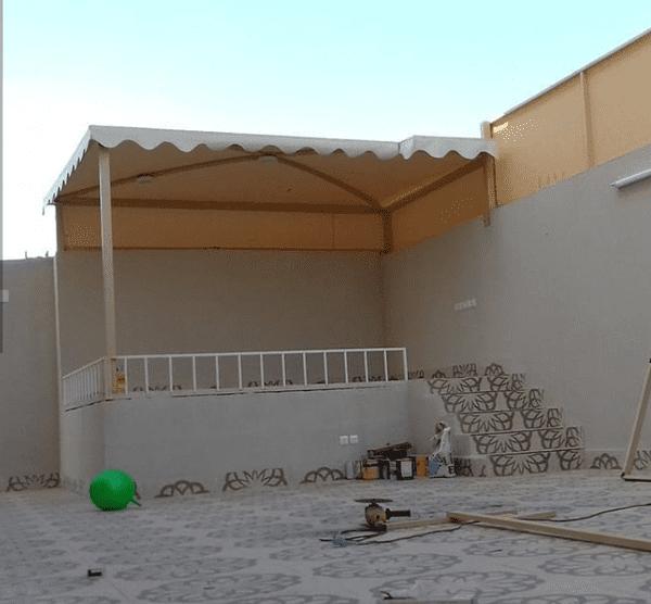 انواع المظلات في الرياض