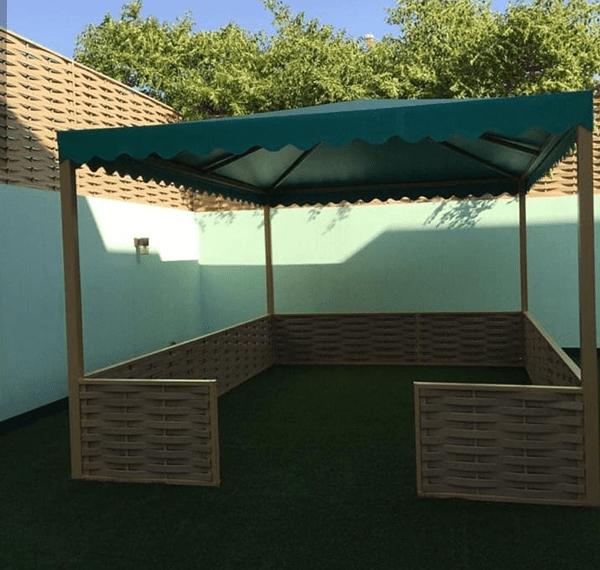 مظلات حدائق قماش في الرياض