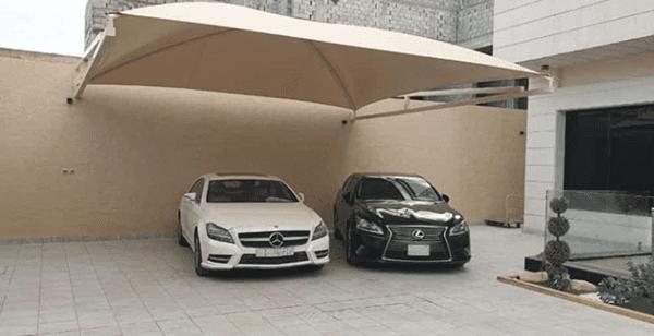مظلات للسيارات في الرياض 