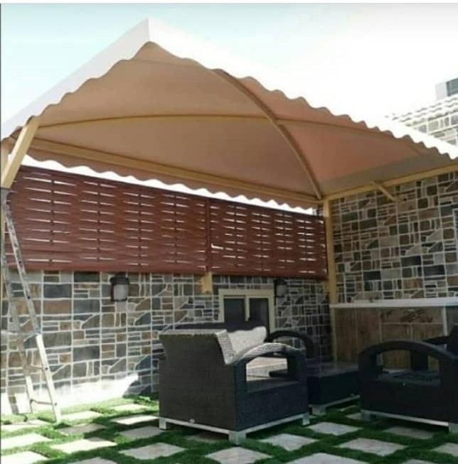 تركيب مظلات اسطح للمنازل في الرياض